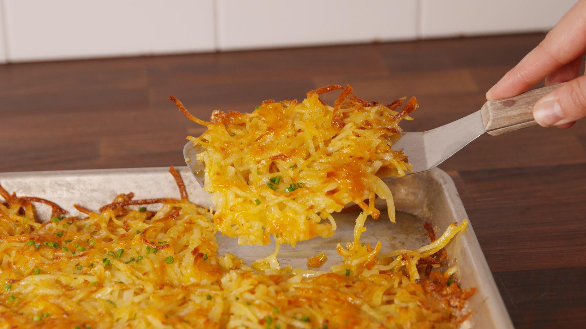 How to make crispy pan fried hash browns