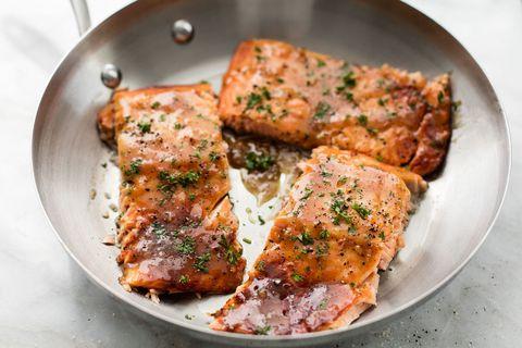 Maple Dijon Salmon Horizontal