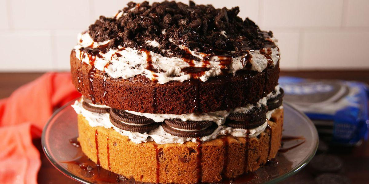 Best Slutty Brownie Cake Recipe How To Make Slutty