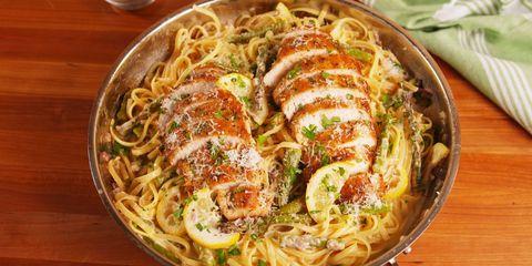 lemon-asparagus-chicken-pasta