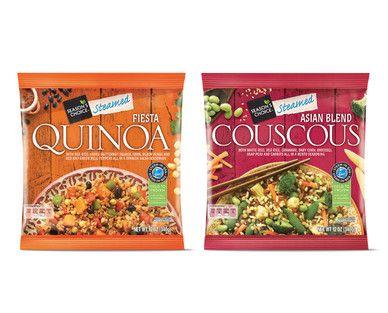 ALDI quinoa couscous