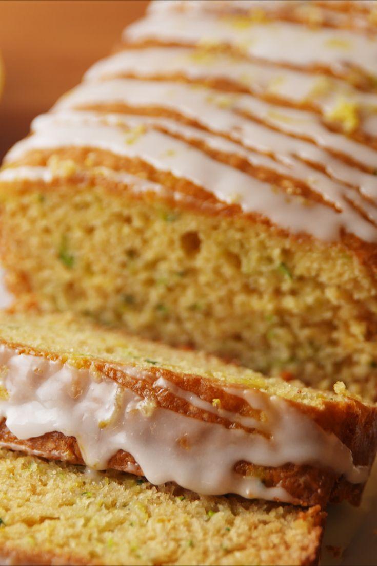 Lemon Zucchini Bread Vertical