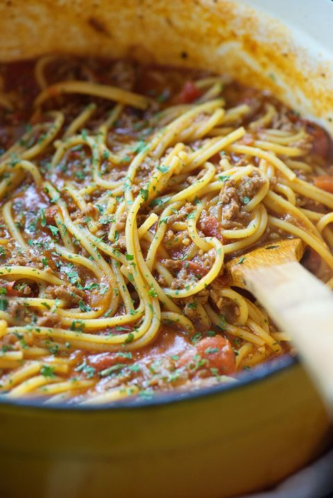 One Pot Spaghetti Vertical