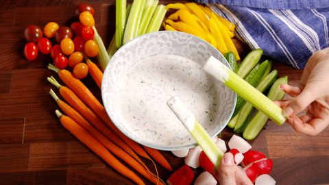 Light Ranch Dressing Horizontal