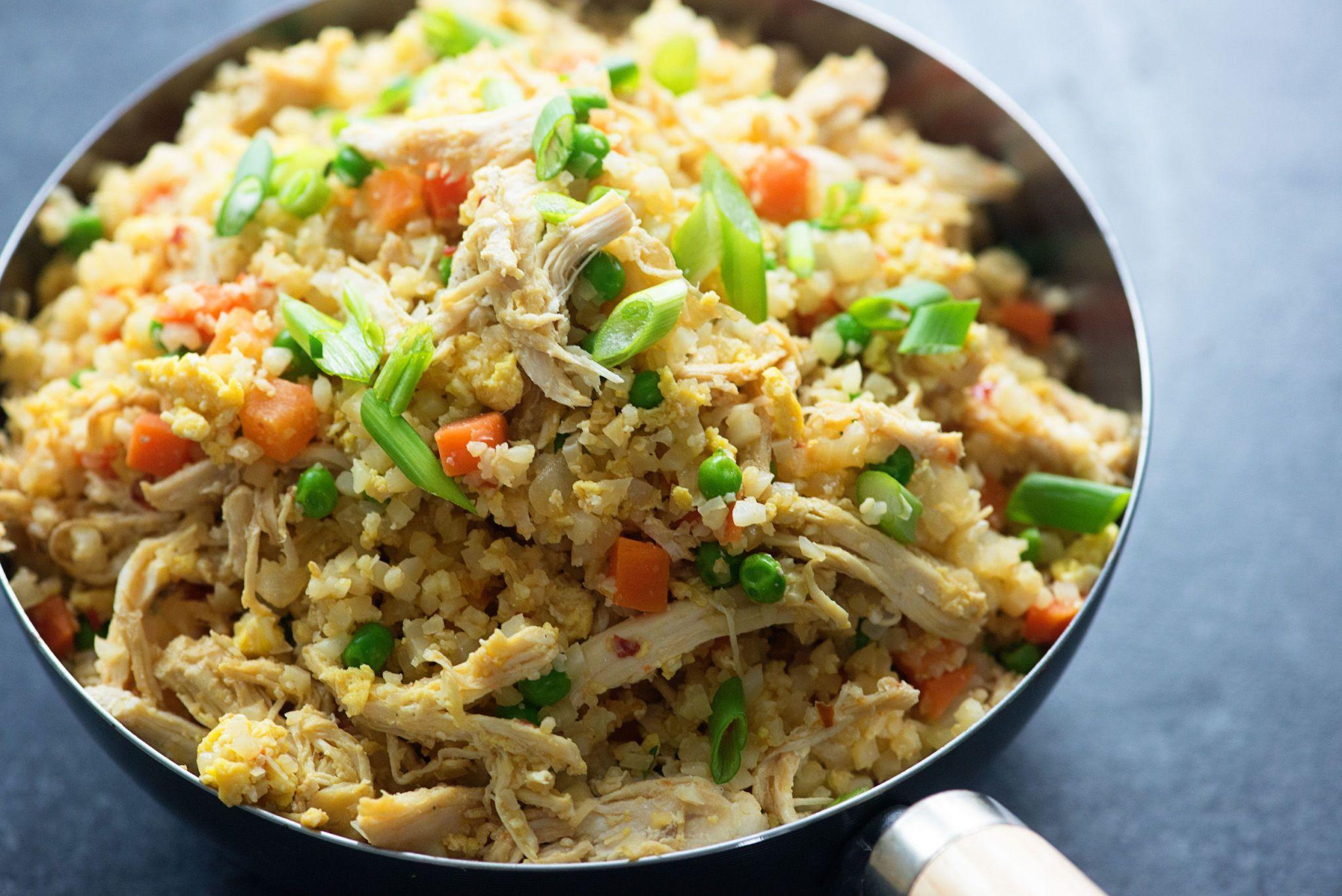 How to make cauliflower rice recipe