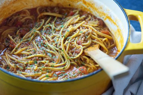 One Pot Spaghetti Horizontal