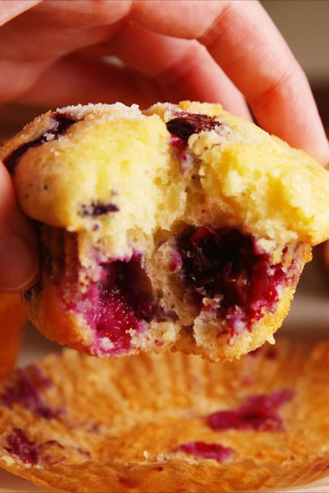 Classic Blueberry Muffins Vertical