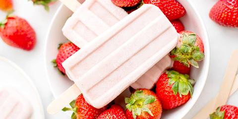 Food, Strawberry, Strawberries, Fruit, Dish, Ingredient, Cuisine, Cream, Produce, Frozen dessert,