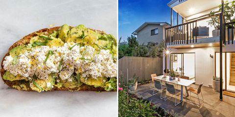 avocado toast house