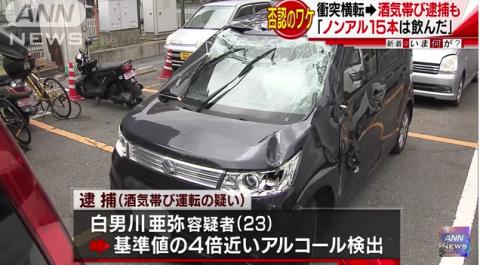 Japan Car Crash