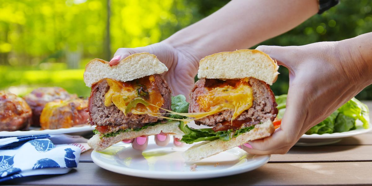 Best Beer Can Burgers Recipe How To Make Beer Can Burgers