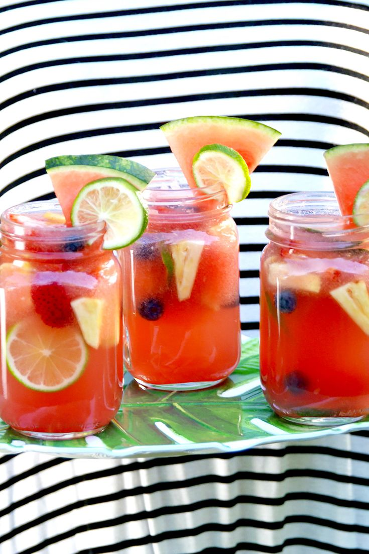 30 Alcoholic Summer Punch Recipes Batch Tails For Parties Delish