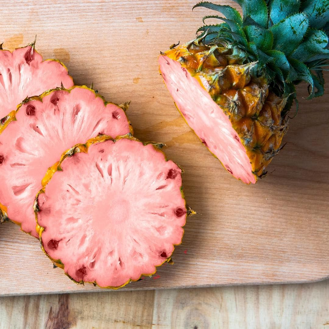 Image result for pink pineapple