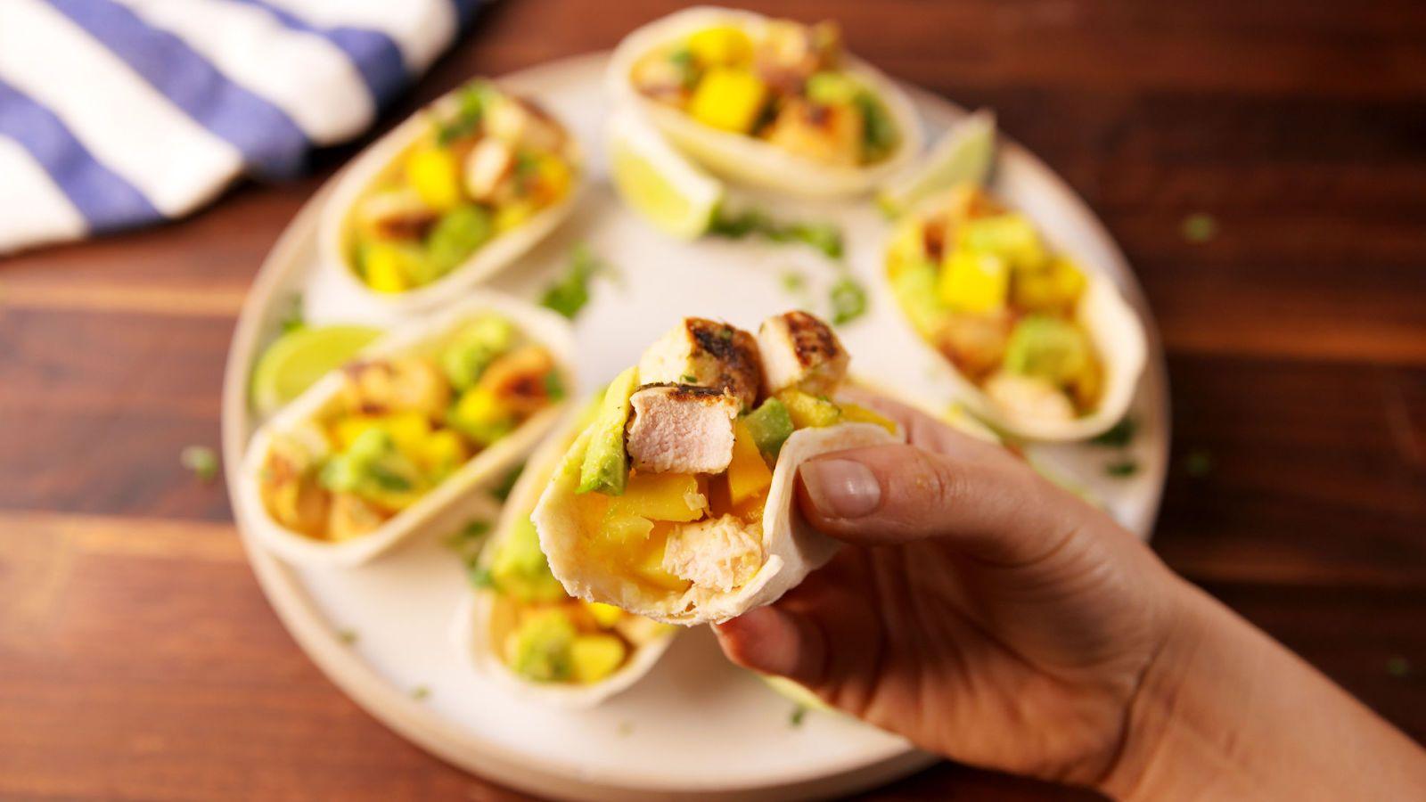 Amazing Mini Chicken Tacos Recipegolkes