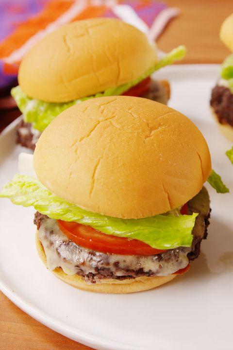 Classic Veggie Burger Vertical