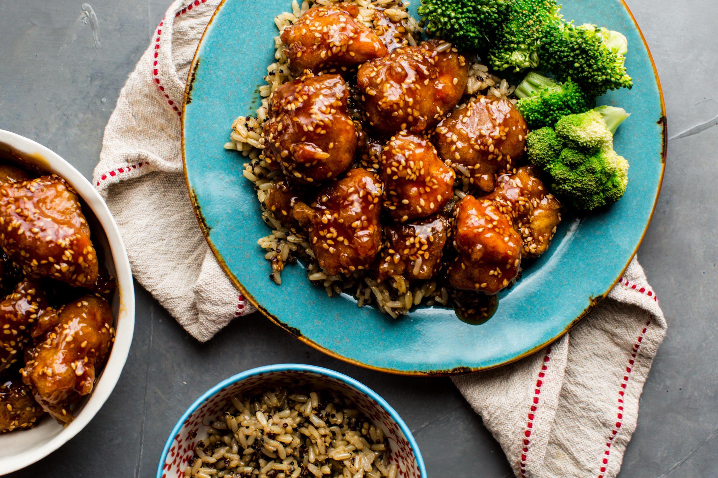 Best Crispy Honey Sesame Chicken Recipe How To Make Crispy Honey Sesame Chicken Delish Com