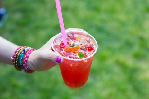 Drink, Non-alcoholic beverage, Smoothie, Drinking straw, Food, Juice, Italian soda, Health shake, Grattachecca,