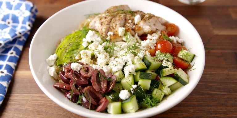 20 best greek food recipes easy greek dinner ideasdelish greek bowls horizontal forumfinder Choice Image