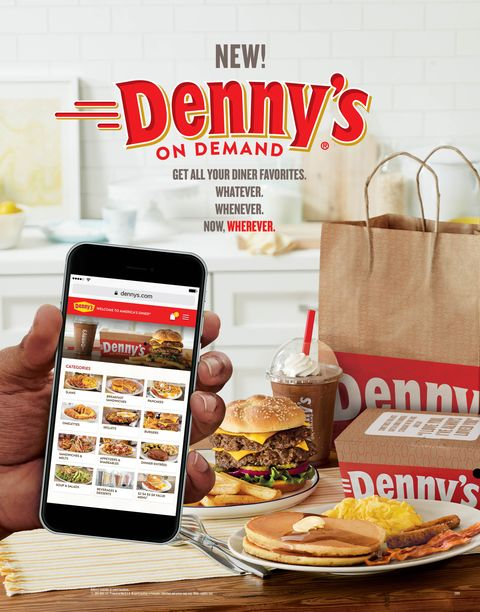 Denny S Will Now Deliver To Your Door 24 7
