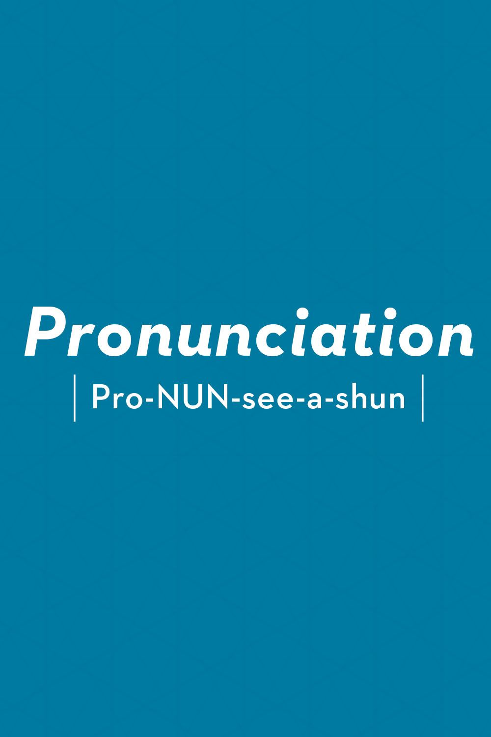 30 Words You're Pronouncing Wrong - List Of Words