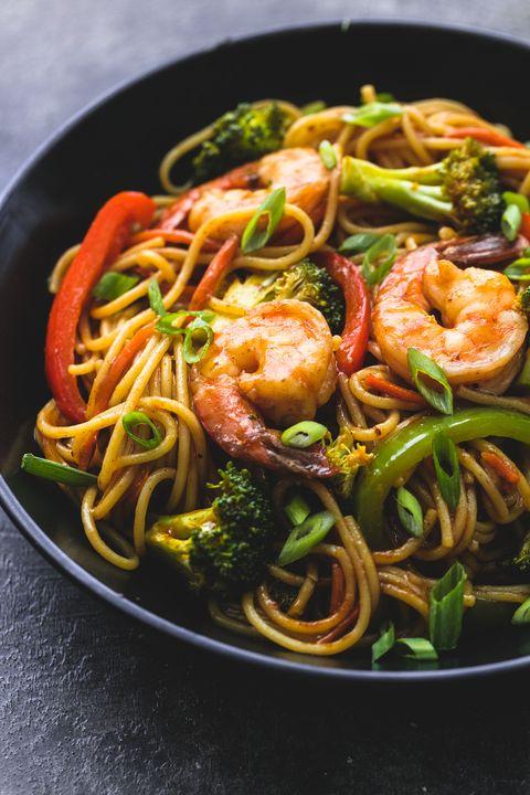 best shrimp n broccoli lo mein recipe how to make shrimp n