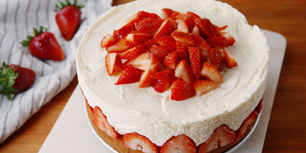 Strawberry Cheesecake Cupcakes With Cake Mix