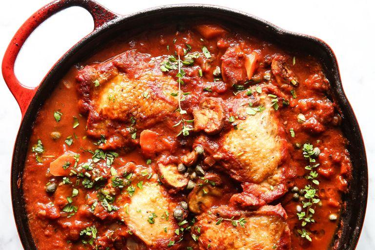 Easy Chicken Cacciatore Recipe How To Make Best Skillet