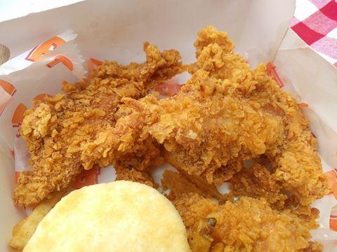 Sweet & Crunchy Chicken Tenders at Popeyes