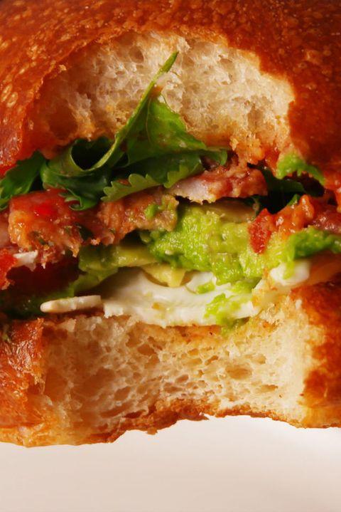 Huevos Rancheros Sandwich Krups Vertical