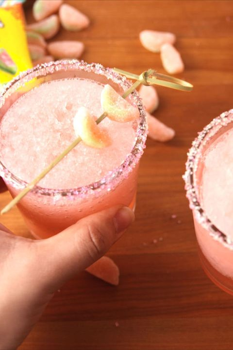 Boozy Sour Watermelon Slushies Verticle