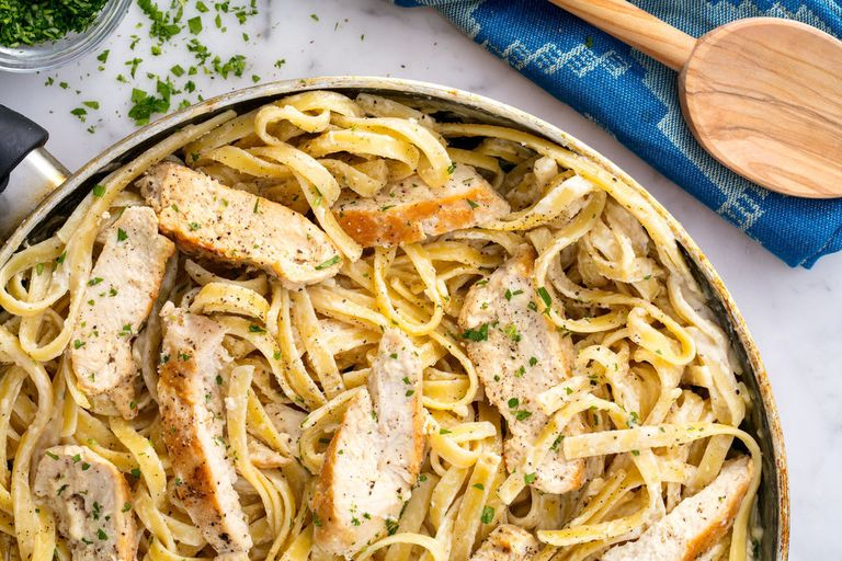 Chicken Alfredo Horizontal