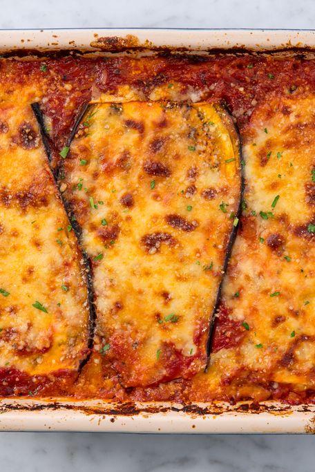 Eggplant Lasagna Horizontal