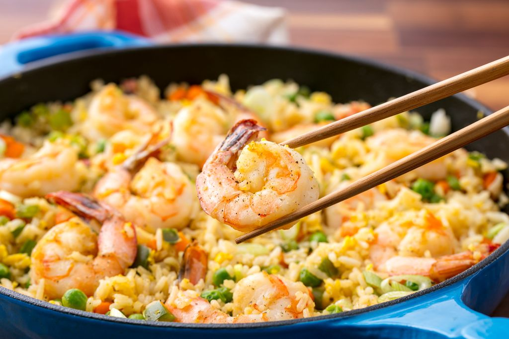 Best Shrimp Fried Rice Recipe How To Make Shrimp Fried Rice