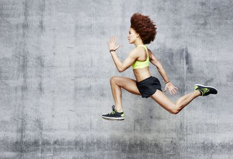 Leg, Human leg, Athletic shoe, Exercise, Knee, Elbow, Calf, Running, Thigh, Physical fitness,