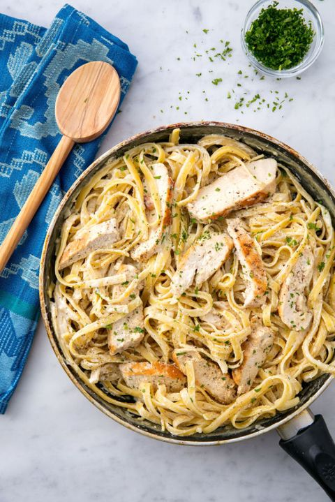Chicken Alfredo Vertical