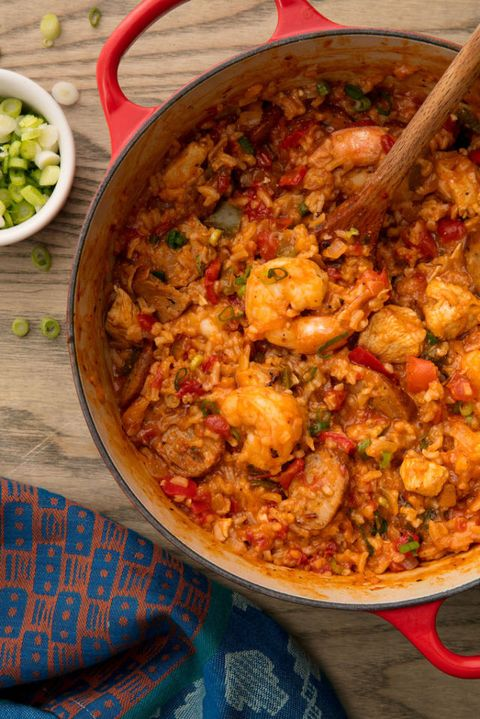 20 mardi gras food recipes best menu for mardi gras party delish jambalaya vertical forumfinder Image collections