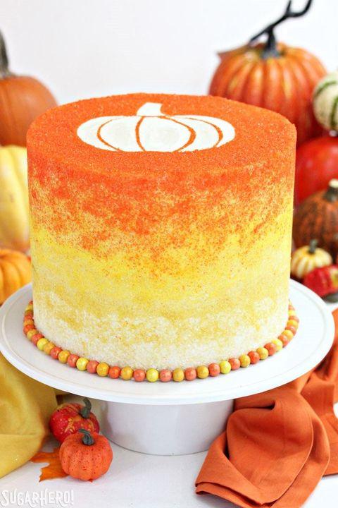 Food, Dessert, Orange, Dish, Cuisine, Cake, Baked goods, Sugar cake, Sweetness, Ingredient,