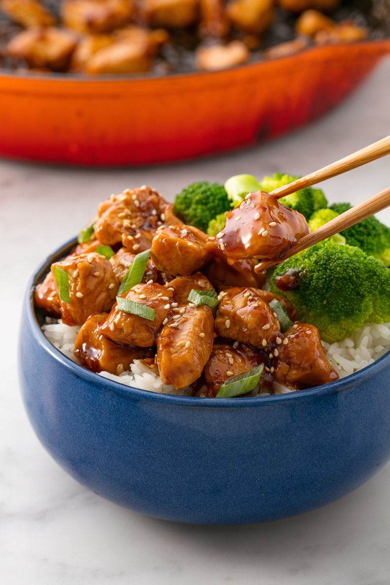 chicken teriyaki easy recipes dinners recipe delish dinner skillet weeknight pollo calabrese ethan insanely quick meals simple supper dishes cooking