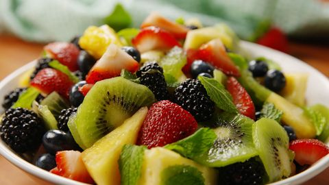 Mimosa Fruit Salad Horizontal
