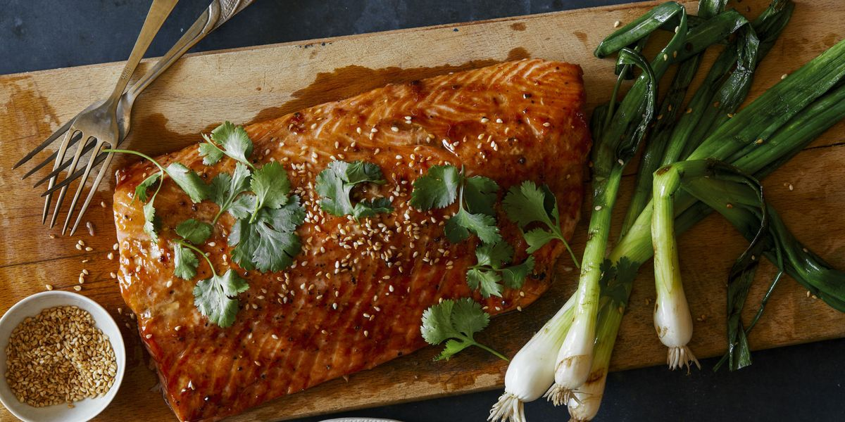 Best Asian Bbq Salmon Recipe-How To Make Asian Bbq Salmon -3849