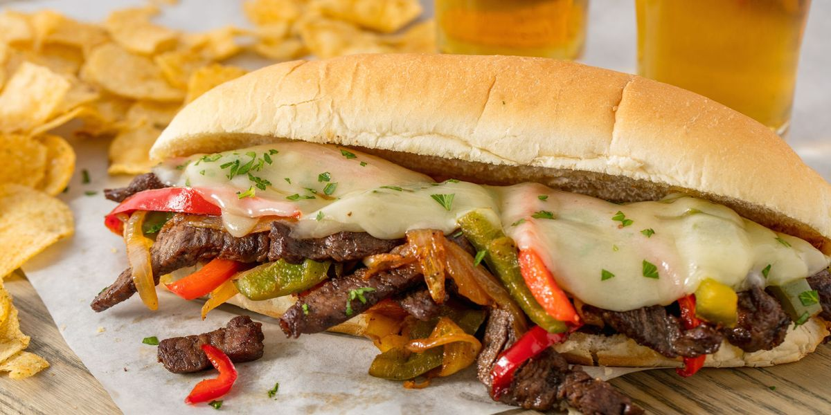 Easy Homemade Philly Cheesesteaks Recipe How To Make A Philly Cheesesteak Sandwich