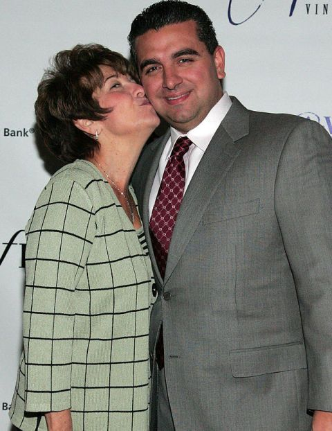 Buddy Valastro With His Mom Mary