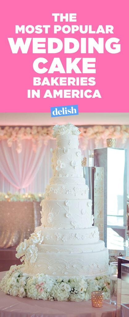 The Most Popular Wedding Cake Bakeries In America Delish