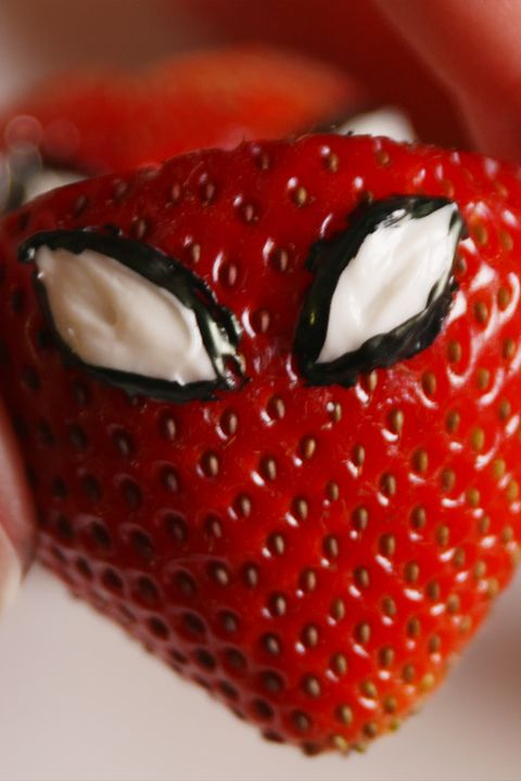 Spiderman-Inspired Strawberries Vertical