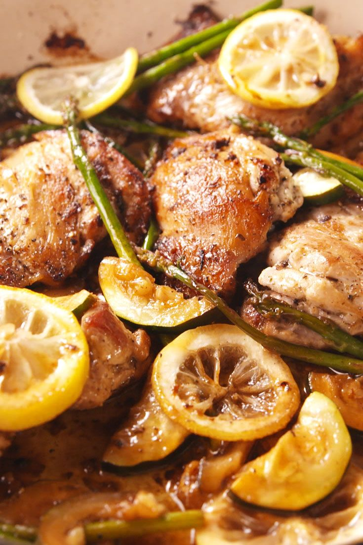 Garlicky Greek Chicken Vertical