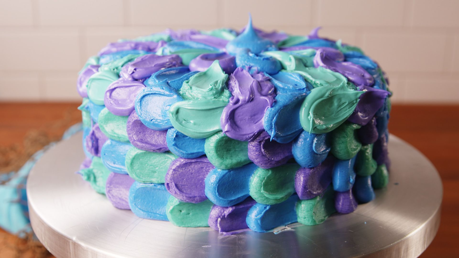 Mermaid Petal Cake