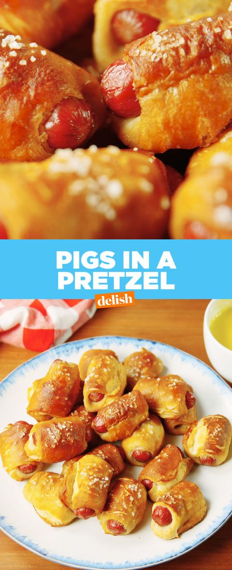 Take Your Hot Dog Game To The Next Level With Pigs In A Pretzel