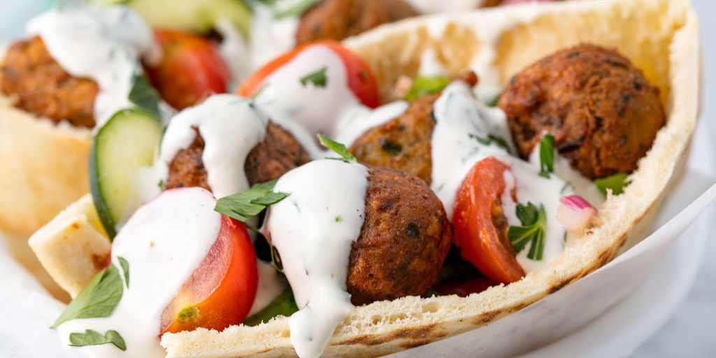 How to make falafel balls from scratch