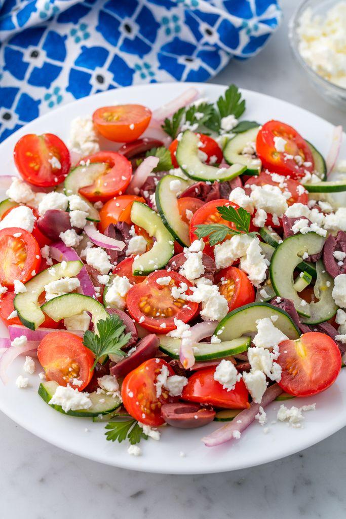 Greek Salad Vertical
