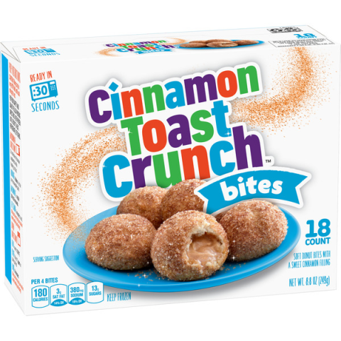 Cinnamon Toast Crunch Crushes It With Its First Snack Food